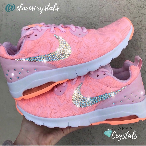 93dcf868bf849 ✨ Custom Swarovski Crystal Women's Nike Air Max ✨